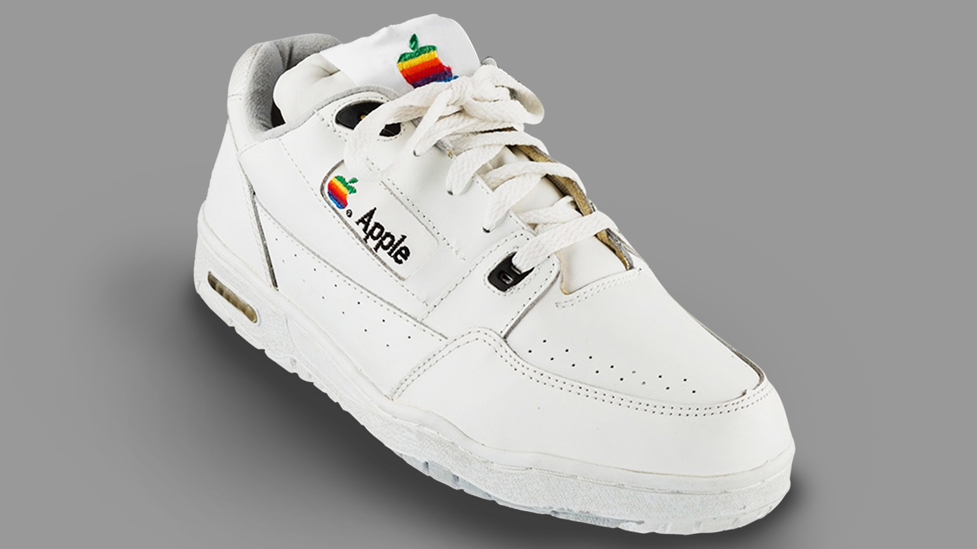 Apple Sneakers From The '90s Are Auctioning For $15,000