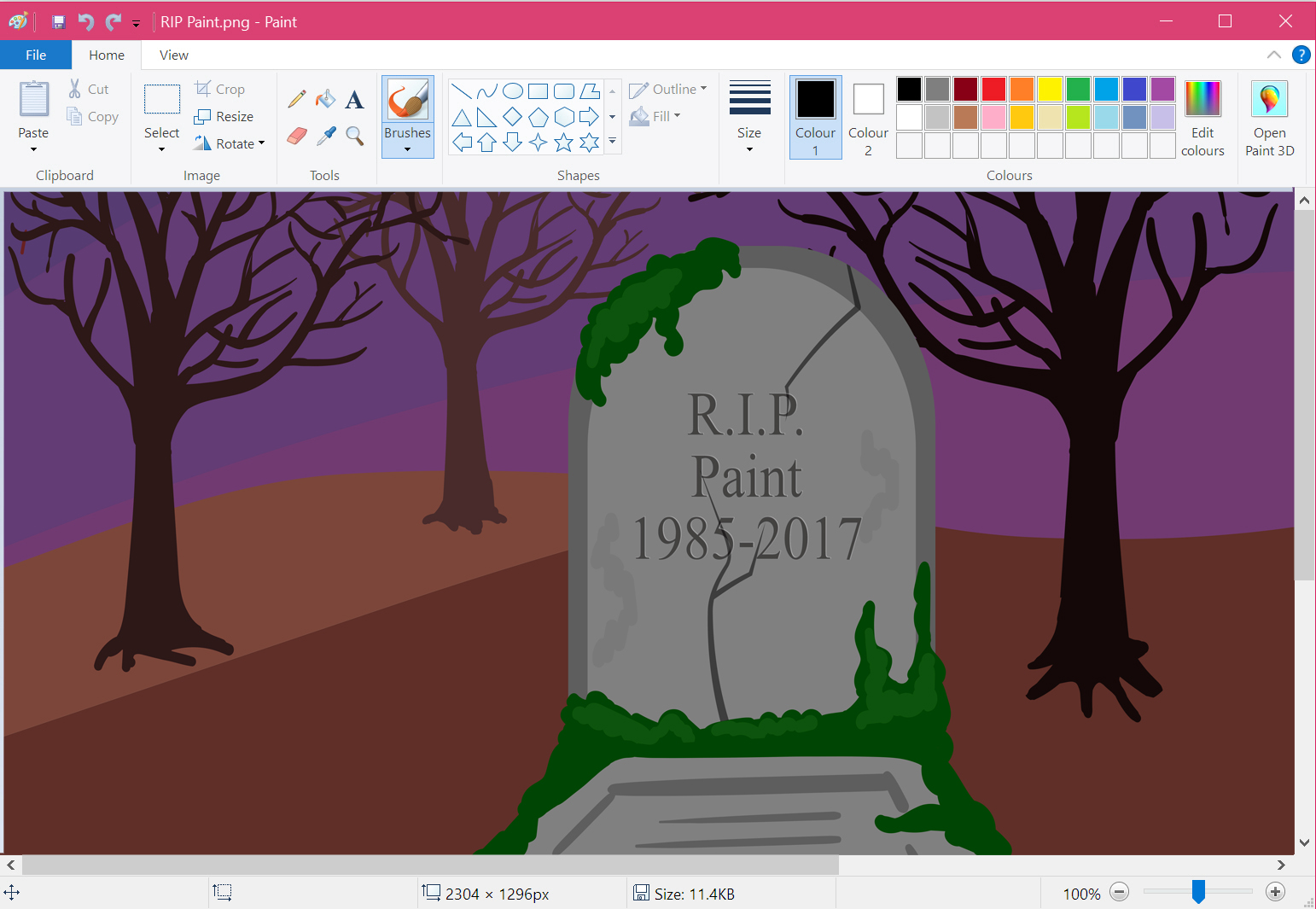 Microsoft Just Announced The Death of Paint
