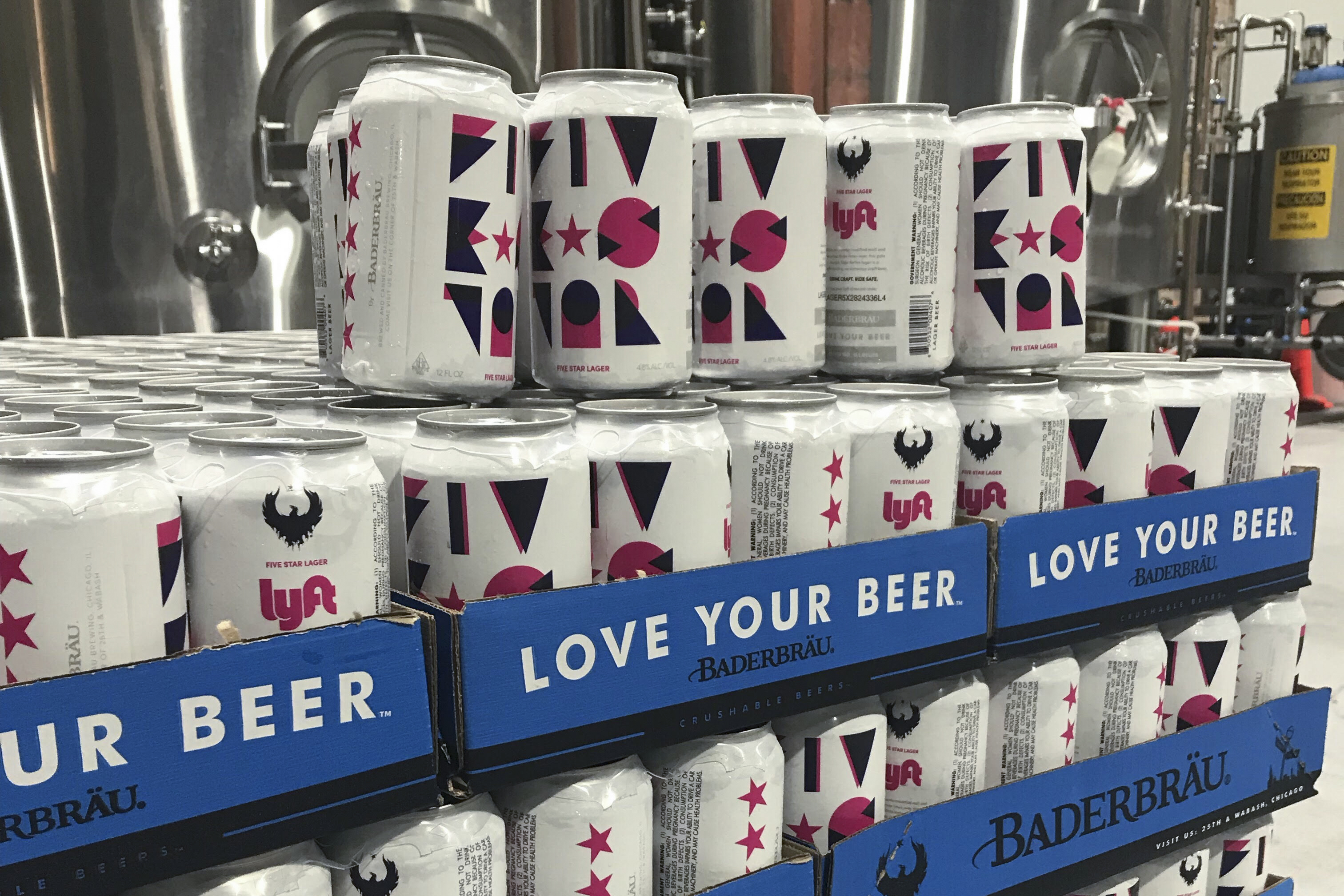 Lyft-branded Beer Offers Ride Discounts at Chicago Bars