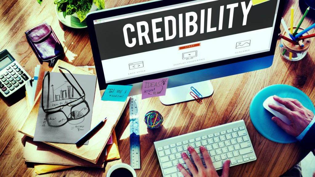 Company Website Credibility